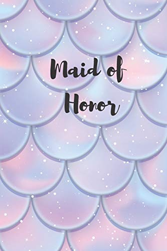 Maid of Honor: List Journal -