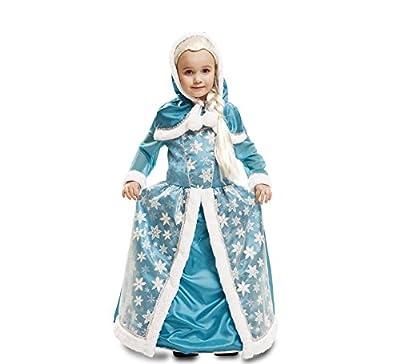 My Other Me - Disfraz de Reina de Hielo, para niños, color azul (Viving Costumes) de Viving Costumes