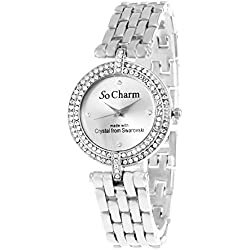 So Charm Silver Watch Made with SWAROVSKI Crystals from 106
