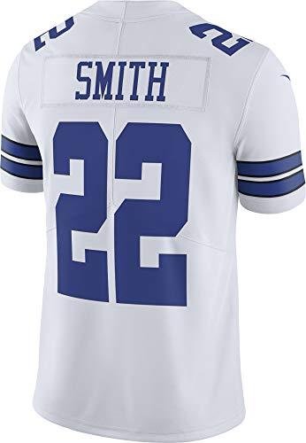 NFL Dallas Cowboys Herren Nike Limited Jersey, Herren, Emmitt Smith Nike White Limited Jersey, weiß, Large