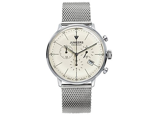 Junkers Men's Quartz Watch with Chronograph Quartz Stainless Steel 6088 M5