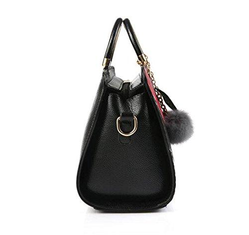 Art Und Weisehandtaschen-wilde Handtaschen-Schulter-Beutel-Kurier-Beutel-Kampf-Farbe Einfach B