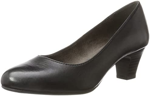 Jana 22400 - Zapatos de Tacón Cerrados de Cuero Mujer