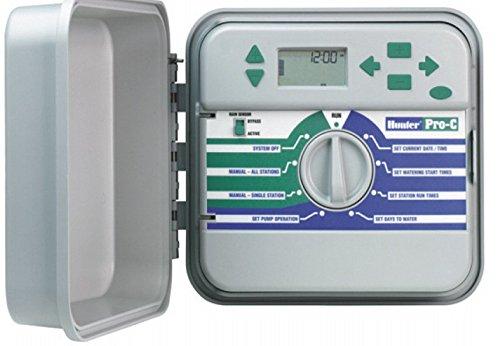 Hunter Ordinateur d'irrigation, Pro C Appareil de commande, blanc, 20 x 28 x 10 cm, na345