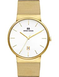 Danish Design - IQ05Q971 - Montre Homme - Quartz - Analogique - Bracelet Acier inoxydable doré
