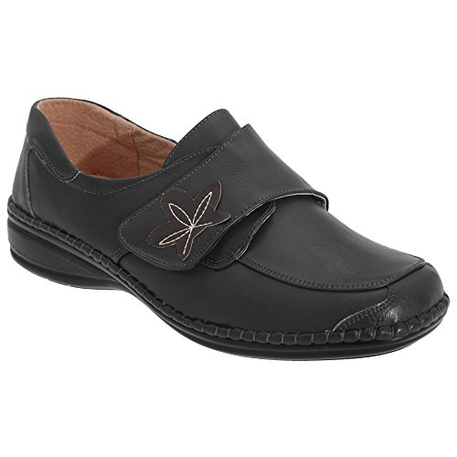 boulevard-womens-ladies-wide-fitting-touch-fastening-casual-shoes-4-uk-black