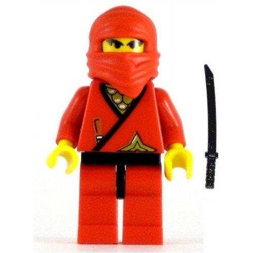 LEGO Ninja Minifig Red Ninja (Lego Red Ninja)