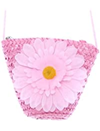 HENGSONG Femmes Girl Beach Tournesol Paille Sac Fourre-tout Embrayage Lady Single Shoulder Bag