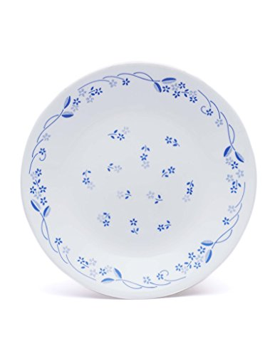 Corelle Livingware Provincial Blue Dinner Plate Set, 26cm, Set of 6