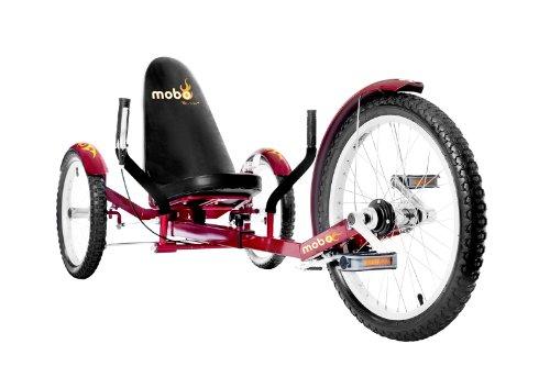 "MOBO Cruiser ""Triton Pro"" Liegefahrrad Dreirad - Rot"