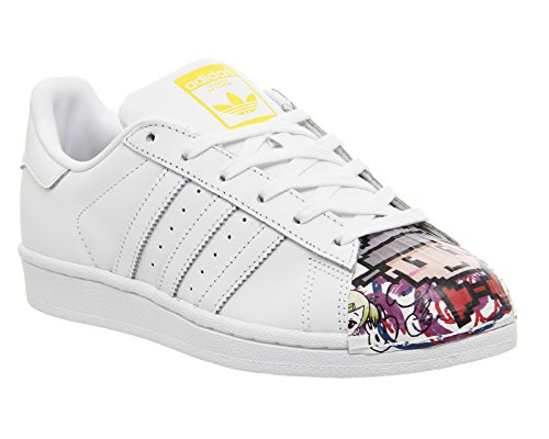 adidas , SUPERSTAR 1 MR SPORT SHELL TOE mixte adulte Blanc/rouge
