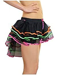 unbranded Vogueland New Ladies Burlesque Tutu Moulin Rouge Sexy Ruffle Panties Frilly Knickers
