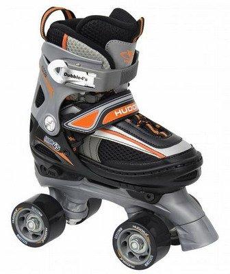 HUDORA 24533 - Dubble4's verstellbarer Rollerskates, Gr. 30 - 33
