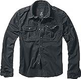 Brandit Vintage Shirt Camicia Nero XXL