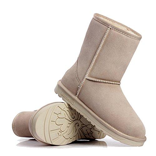 Dayiss® Fashion Unisex Erwachsene Damen Herren Halbschaft Stiefel ...
