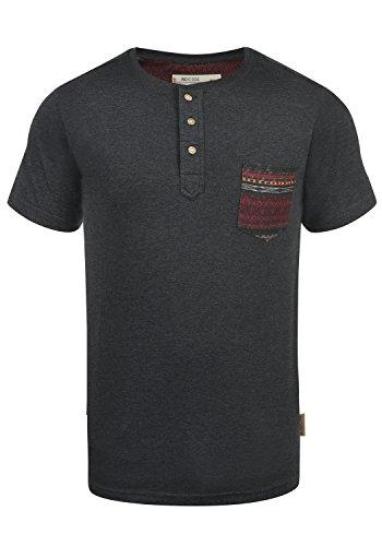 INDICODE Art T-Shirt, Größe:3XL;Farbe:Charcoal Mix (915) (Baseball-leichtes T-shirt)