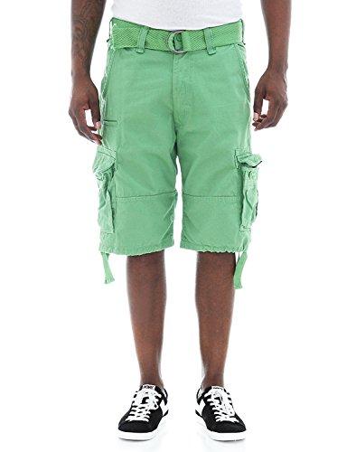 Jordan Craig Cargo Shorts Green Style 4300 Men (36) (Jordan Shorts Green)