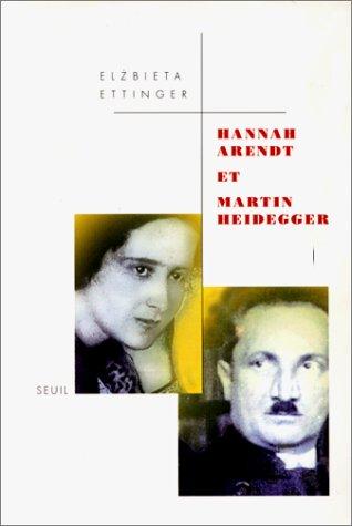 Hannah Arendt et Martin Heidegger par Elzbieta Ettinger