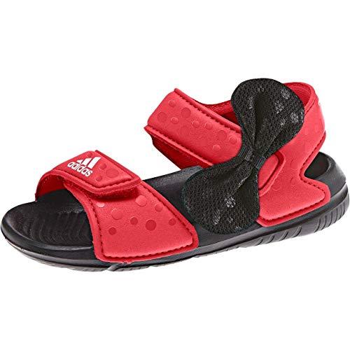 adidas DY M&M AltaSwim I Badesandalen-Kinder - scarle/cblack/ftwwht, Größe #:26
