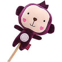 Las muñecas de la historieta de la felpa espesan el golpe suave hacia atrás Regalo de los palillos del masaje para el mo