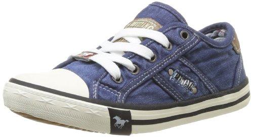 MUSTANG Unisex-Kinder 5803-305-841 Low-Top, Blau (841 Jeansblau), 38 EU