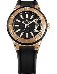 Jacques Lemans Damen Armbanduhr Multi Zifferblatt Quarz Silikon 1-1785G