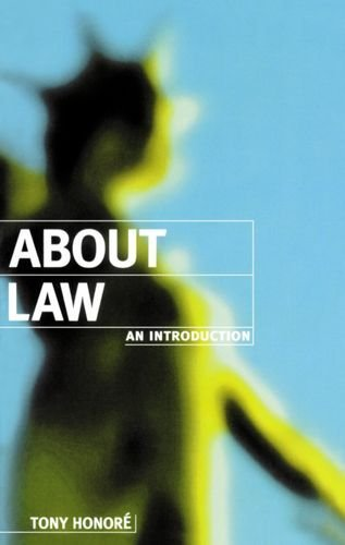 About Law: An Introduction (Clarendon Law Series) by Honoré, Tony (February 8, 1996) Paperback