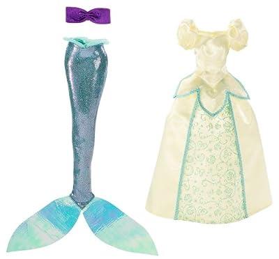 Disney V8790 - Set de 2 vestidos de princesa para muñeca de Ariel de Disney Princesses