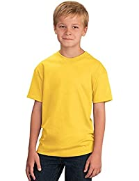 Yellow tops t shirts boys clothing for Yellow t shirt for kids