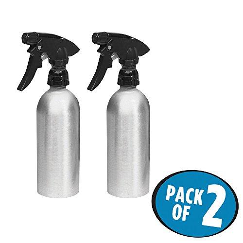mdesign-bottiglie-spray-alluminio-antiruggine-per-cura-dei-capelli-o-piante-confezione-da-2-spazzola