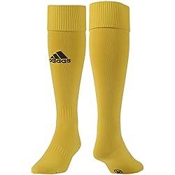 adidas Milano Sock - Medias para hombre, color negro / gris / amarillo, talla 2