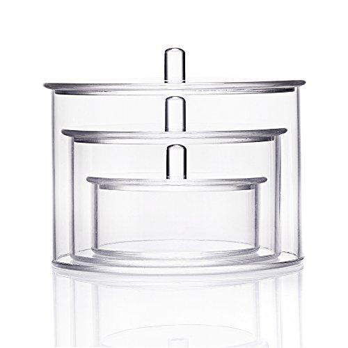 lehcar acrilico trasparente gioielli e cosmetici, Boxs