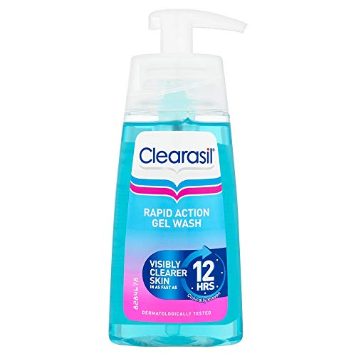 6 x Clearasil Ultra Rapid Action Gel Wash 150ml