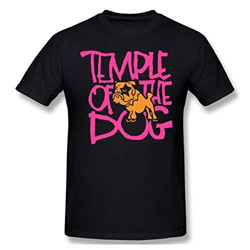 DeyAope Temple of The Dog Herren Komfortabel T-Shirt Black M -