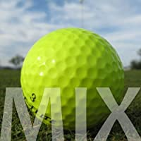 50 amarillas Mix Lake Balls/pelotas de golf – Calidad AAA/AA