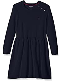 Tommy Hilfiger Ame M Sweaterdress L/S, Robe Fille