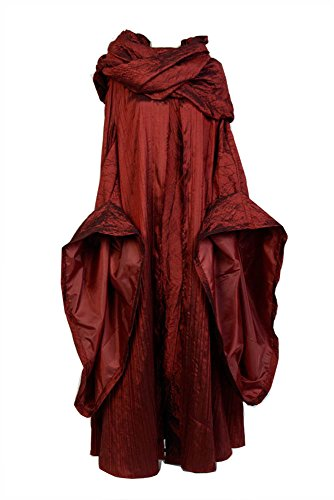 Fuman Game of Thrones Melisandre Kleid Cosplay Kostüm M