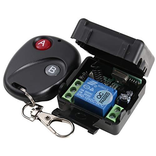 uhppote DC12V RF Wireless Fernbedienung Beleuchtung-Sender + Empfänger 433Mhz Wireless A/v Sender