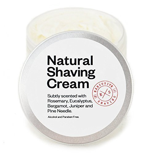 executive-shaving-alcohol-and-paraben-free-natural-shaving-cream-150ml-tub-perfect-for-sensitive-ski