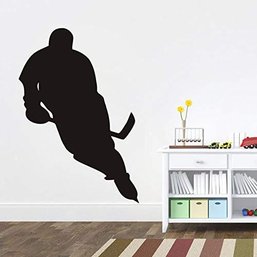 Kreative baseball charakter wasserdicht entfernbare wandaufkleber wohnzimmer schlafzimmer dekoration pvc -