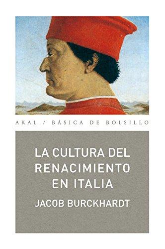 La cultura del Renacimiento en Italia (Básica de Bolsillo)