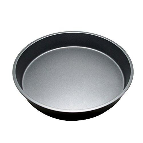 Ya Jin 25,4cm tief Pizza Tablett/Pfanne Antihaft-Pie Backblech Küche Bakeware Werkzeug (Leichte Zinn Ausführung)