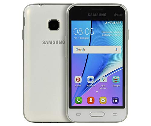 Samsung Galaxy J1 Mini Prime (2016) SM-J106F 4' 4G 1GB 8GB 1500mAh Blanco - Smartphone (10,2 cm (4'), 1 GB, 8 GB, 5 MP, Android, Blanco)- Versión Extranjera