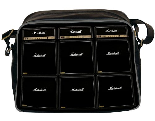 marshall-mar002-printed-shoulder-bag-mens-travel-accessory-black-one-size