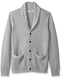 c4d88a6837 Goodthreads Soft Cotton Shawl Cardigan Sweater - Sudadera Hombre
