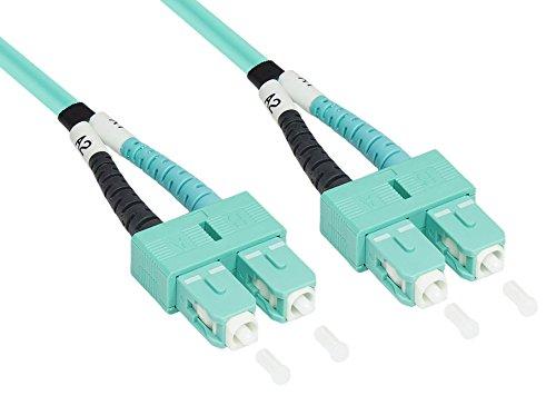 Patchkabel LWL Duplex OM3 (Multimode, 50/125) SC/SC, 5m, Good Connections®