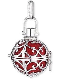 Engelsrufer pendentif classique pour femmes  L argent 925 Sterling avec carillon rouge