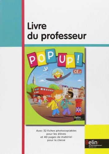 Pop Up! CE2 : Livre du professeur par Michèle Geffroy