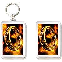 Portachiavi e magnete Il signore degli anelli