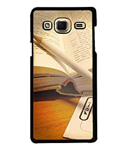Fuson Designer Back Case Cover for Samsung Galaxy J3 (6) 2015 :: Samsung Galaxy J3 2015 Duos :: Samsung Galaxy J3 2016 J320F J320A J320P J3109 J320M J320Y (book reading knowledge learn learning)